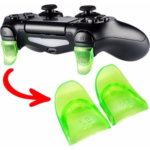 Yoteen Game Controller L2 R2 Pulsanti 1 paio Trigger Extenders Gamepad Pad per PlayStation 4 PS4 Dualshock 4