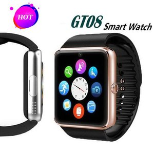 GT08 Smart Watch Bluetooth DZ09 U8 Smartwatch ساعات المعصم لآيفون 7 6 6S زائد سامسونج S7 edge Note 7 HTC Android Phone الهاتف الذكي