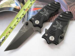Benchmade 904 couteaux Fold 2 mode trompette 6.9 pouces 440 lame en acier couteau de camping forte pliant Avec boîte de vente au détail