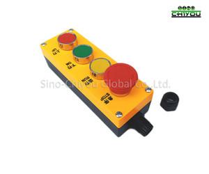 Asansör parçaları kontrol kutusu bakım uzaktan 4 düğmeler STOP / RUN / UP / DOWN /