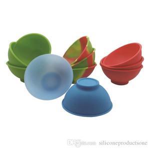 10 pçs / lote Silicone Pinch Bowl Resistente Ao Calor de Cera Dab Recipientes Dinnerware Set Ferramentas de Cozinha Para Bho Wax Oil Hash