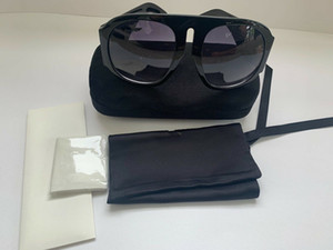 Lüks YURTDIŞI RUNWAY SUNGLASSES orijinal boxe Ile SIYAH 0152 marka Tasarımcı Güneş Gözlüğü orijinal kutuları Ile Kadınlar ...