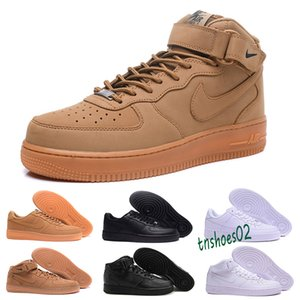 2020 High quality latest men's fashion low-top white shoes ladies black like neutral high-top one casual shoes 36-45 n46