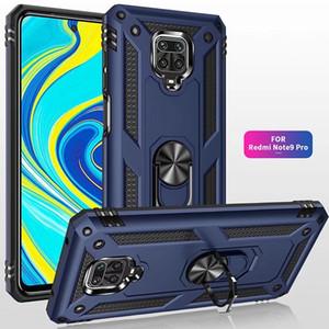 Darbeye Zırh Manyetik Halka Tutucu Telefon Kılıfı için redmi Not 9Pro Max 9 8T 8Pro 8 7 Caver İçin redmi 9 8 8A 7 7A 9s