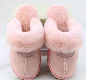 pantoufle HOT VENTE 2020 pantoufles en coton chaud de haute qualité pour hommes et femmes Bottes de neige de bottes courtes femmes Designer d'intérieur Cotto