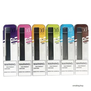 Bidi Stick Disposable Device Vape Pen Starter Kit 1.4ml Pods Bidi Stick Disposables Vaporizer Vape Pens Cartridges Ecigs Kits Empty