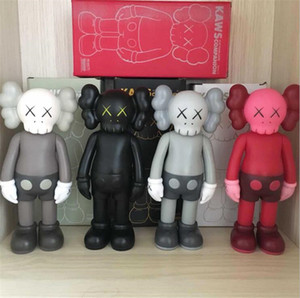 HOT 20CM 0,8 kg Originalfake KAWS Companion Box Original KAWS 8inches Action Figure presente decorações modelo brinquedos