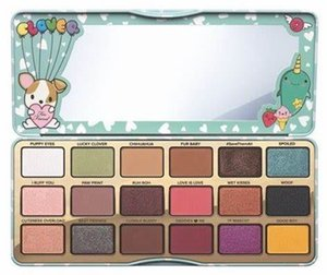 A+++ Clover A Girls Best Friend Eye Shadow Palette 18 colors eyeshadow palette DHL Free Shipping