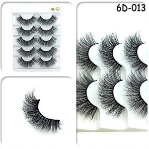 7 Styles 3D Mink Hair False Eye Lashes Wispy Makeup Thick Natural Cross Long False Eyelashes Eye Makeup Beauty Extension Tools
