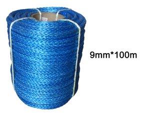 9 milímetros 100m UHMWPE Synthetic Rope Linha frete grátis Winch