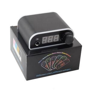 Digital LCD Tattoo Power Supply Aluminium Case Voltage Adjustable Power Supplies For Tattoo Machine TSP - 0318