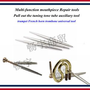 embout buccal multi-fonctions Outils de réparation Tirez sur l'outil auxiliaire tube de tonalité de réglage trompette trombone cor français outil universel