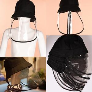 Unise защитный колпачок анти-туман шляпа анти-ультрафиолетовая изоляция Маска солнцезащитная шляпа лицевой щиток Рыбацкая шляпа анти-плевок всплеск лицевая крышка