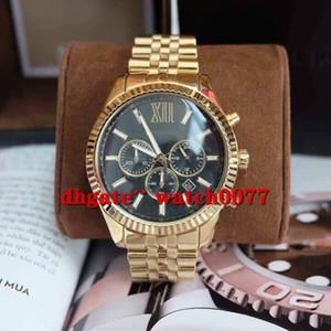 Новый MK8281 MK8280 MK8286 MK8412 MK8602 MK8603 MK8320 MK8561 MK8405 MK6473 хронограф кварцевые мужские часы 8281 8280 8286 8412 8602 8603 8320