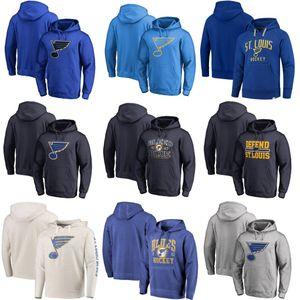 91 Vladimir Tarasenko ST. LOUIS BLUES Hoodie Alex Pietrangelo de coutume Nom Joel Edmundson lecteur personnalisé et numéro Sweat-shirts
