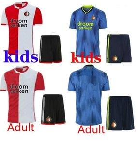 TOP Quality 2019 2020 Feyenoord man soccer jersey kids kit home away 19 20 maillot de foot LARSSON V.PERSIE BERGHUIS VILHENA football shirt