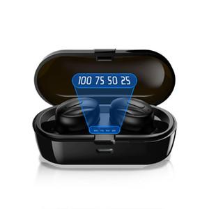 XG13 Pro Digital Display Headphones True Wireless bluetooth 5.0 TWS in-Ear Ear buds Mini Headset 3D Stereo Sound Sport Earphone