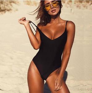 Оптовый сексуальный цельный купальник женщин купальники женский сплошной черный стринги спинки монокини купальный костюм XL