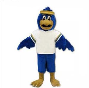 Envío gratis Falcon traje de la mascota de tamaño adulto personaje de dibujos animados Eagle Bird Mascotte Mascota traje traje traje de lujo traje Fit Kit