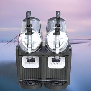 Pequeña máquina de fusión de la nieve 2L comercial máquina de barro solo cilindro nieve nieve que se derrite el hielo de la máquina automática de fusión envío libre