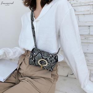 Chest Bags Women 2020 New Fashion Outdoor Hasp Serpentine Messenger Bag Fashion Design Purses Women Bag 2020 Bolsa Feminina