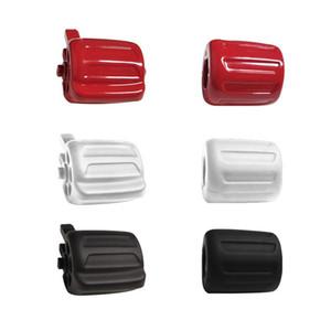 Un par Para F02 F07 F10 F18 F02 Interruptor Volante de dirección multifuncional botón de la rueda del coche del caucho accesorios de estilo