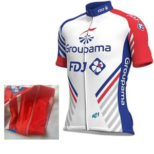 2020 pro team groupama FDJ italia cuff laser cut sleeve cycling jersey summer cycle cloth MTB Ropa Ciclismo Bicycle maillot