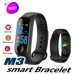 M3 Smart Band Bracelet Watchs Bluetooth Wristband Wearable Fitness Tracker Smart Watch Heart Rate Watchband For Apple Watch Android