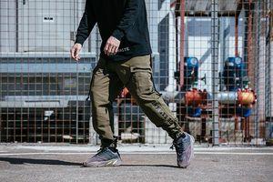 Pantolon Pantalones Çoklu TKPA Mens Tasarımcısı Kargo Pantolon Gündelik Gevşek Kaykay Giyim Cepler