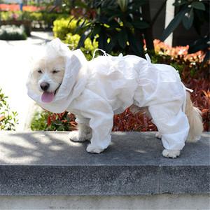 2020 Perro Ropa de protección desechables Traje de protección Ropa Animales Perros ropa ligera reducir las bacterias para mascotas perro piel Accesorios Segura