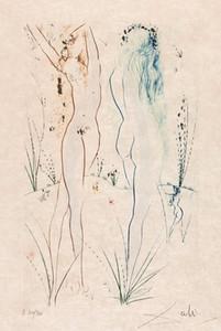 Salvador Dali Retour Home Décor peint à la main HD Imprimer Peintures à l'huile sur toile Wall Art Photos 191107