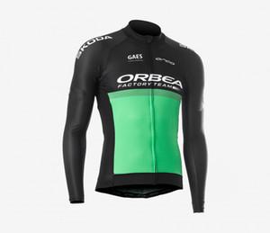 شتاء صوف حراري فقط CYCLING سترات الملابس الطويلة JERSEY ROPA CICLISMO 2019 ORBEA TEAM SIZE: XS-4XL