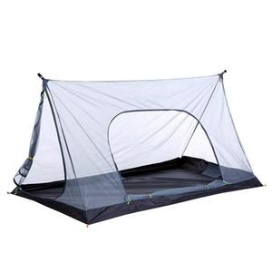 Ultralight Summer Mesh Tent 1-2 Person Outdoor Camping Tent Repelente Net Beach Mesh Tent