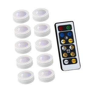 주방 계단을 위해 캐비닛 빛 무선 디 밍이 가능한 터치 센서 주도 밤 램프 배터리 전원 원격 제어에서 적합