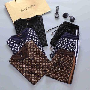 New Treino Casacos Set Moda Correndo Fatos Homens Sports Letter Suit impressão Magro Hoodies Roupa trilha Kit desenhador Sportswear