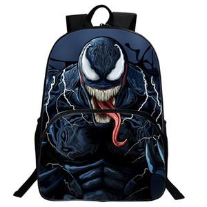 Hyun Sonho Homem Por Atacado Weiwei Venom Mochila Saco de Estudante Herói Mochila Infantil Vingadores 30 * 16 * 40 CM