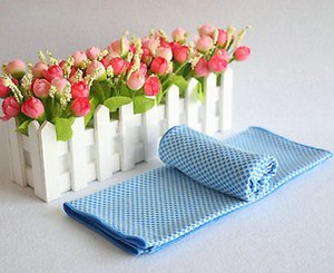 Schnellkühlung Handtuch Sport Gym Towel Drying Sweat Haustiere Baby-Dry absorbieren Fall