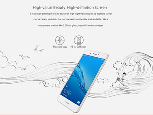 "Original Huawei Desfrute 6S 4G LTE Cell Phone Snapdragon 435 Octa Núcleo 3GB RAM 32GB ROM Android 5.0"" 13.0MP Fingerprint ID 3020mAh Mobile Phone"