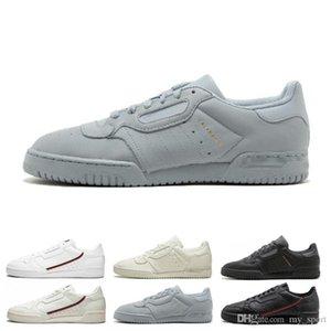 Venda quente Calabasas PowerPhase Grey Continental 80 calçados casuais Kanye West Aero Core azul preto OG branco das mulheres dos homens instrutor Esportes Tênis