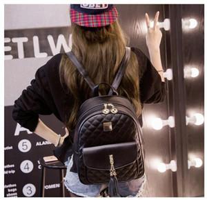 Zaino Designer-nuovo modo per le ragazze adolescenti con doppio della spalla del Marchio di viaggio esterno Zaini per le donne Gli studenti BackpacksB9