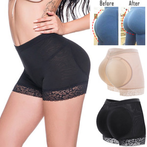 Branded New FAKE ASS Women Butt Hip Enhancer Booty Padded Underwear Panties Body Shaper Seamless Butt Lifter Panty Boyshorts Shapewear