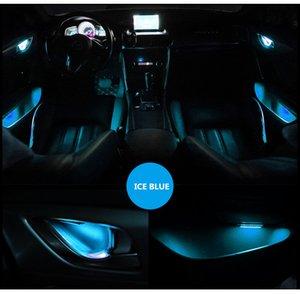 4 stücke Atmosphäre Lampe Lichter Innen Auto Dekorative Innentür Schüssel Handgelenke Armlehne Lichter Umgebungslicht Autotür Innenlicht