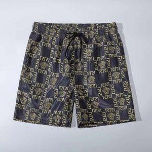 Los últimos hombres del diseñador de moda de la moda pantalones cortos ocasionales de la playa pantalones cortos pantalones cortos de la marca de ropa interior de los hombres de la ropa del verano de los hombres de lujo