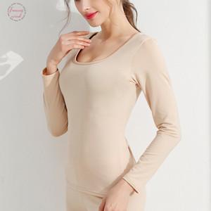 New T Shirt Women Long Sleeve Winter Tops Tees O Neck T Shirts For Women Thermal Underwear Female T Shirt Camisas Femininas