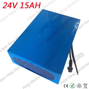 Europe no tax Hot sale 24V 15AH 350W Ebike Battery 24V Lithium Battery Pack 24V With 29.4V 2A Charger 20A BMS Free Shipping