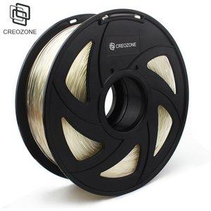Freeshipping TPU flexible en plastique transparent du filament de l'imprimante 3D pour l'imprimante 3D 1.75mm 1KG Flex TPU 3D matériaux d'impression