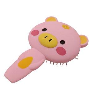 Animal del masaje del amortiguador de aire peine portable lindo creativo encantador de la manera del cepillo de pelo Escova De Cabelo