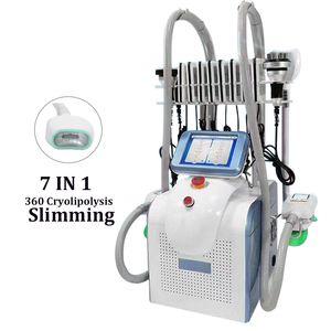 2020 Nova Cryolipolysis gordura congelamento Removal máquina Professional crioterapia emagrecimento cavitação Fat RF de aperto Anti Celulite Pele