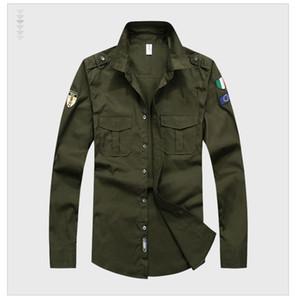 새로운 디자이너 최고 품질 자수 남성 'S 브랜드 의류 남성 셔츠 브랜드 폴로 옴므 다이아몬드 패션 군사 의류