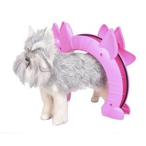 Кошка Собака Китти дверь Pass Интерьер Cat двери Pet игрушки Скрытая Помет Box Pink Home Зоотовары продукты Свободная перевозка груза